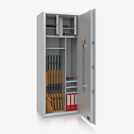 waffenschrank modell starnberg 8 wh r ckwand 2 wh links 733 9. Black Bedroom Furniture Sets. Home Design Ideas