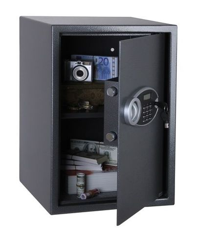 Hotel Safe/Munitionstresor - Serie SS0105E RHEA - Elektronikschloss mit Display Außenmaße in mm [HxBxT] - 250 x 350 x 250